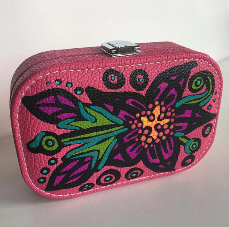 Shop Custom ART TO WEAR Travel Jewelry Case Organizers