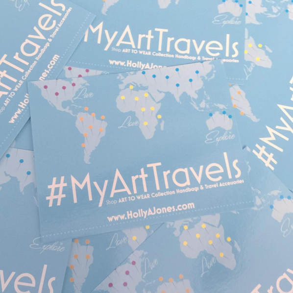 Travel and Check-in with #MyArtTravels Collectors